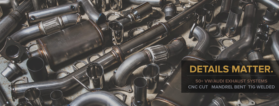 42 Draft Designs VW/Audi  Exhaust Systems