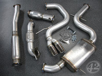 Audi A3 FSI/TSI FWD Turbo-Back Exhaust System (8P)