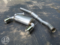 "Audi TT 180Q 3"" Cat-Back Exhaust System"