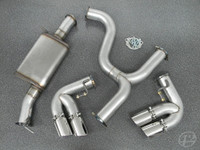 "Audi Mk2 TTS 3"" Cat-Back Exhaust System"