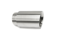 "3.0"" Brushed Double Wall Exhaust Tip (2.5"" Weld-On)"