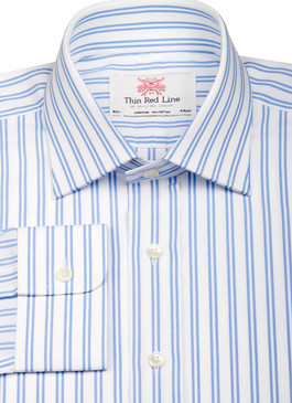 Twin Stripe Sky (Slim fit)