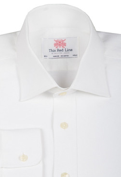 Linen White (Slim Fit)