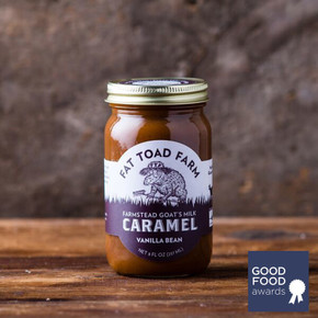 Fat Toad Farm Vanilla Bean Caramel Sauce