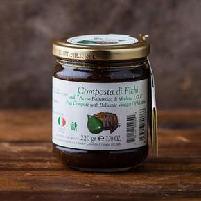 Composta di Fichi Fig Balsamic Compote