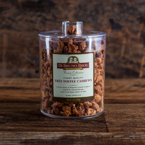 Tres Toffee Cashews Canister