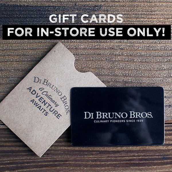 Buy di bruno bros gift card today at dibruno image 1 colourmoves