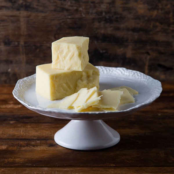 Aged White New York Cheddar Gourmet Cheese Di Bruno