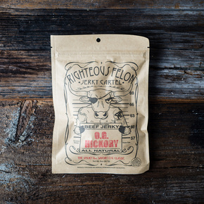 Righteous Felon O.G. Hickory Blend Jerky