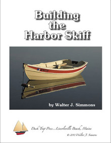 Building the Harbor Skiff, black and white book