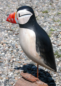 Seal Island Puffin  Decoy