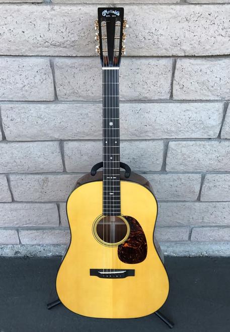 Martin D-18 Acoustic Guitar - 12 Fret Custom Shop - 2014