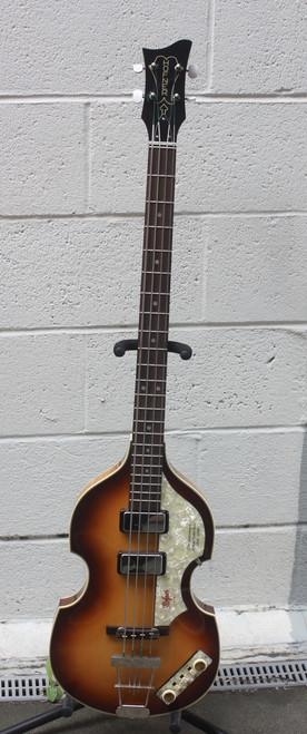 Hofner 500/1 50th Anniversary Cavern Bass front full