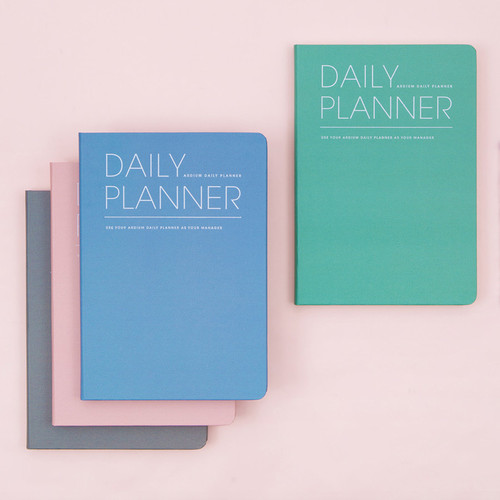 Simple and basic undated daily planner