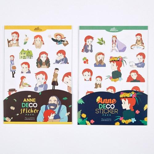 Anne of green gables deco sticker set