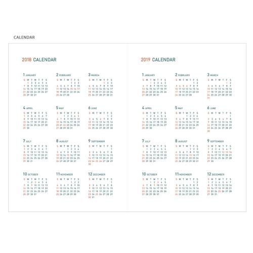 2018 appointment calendar