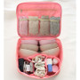 Rim travel multi pouch bag packing aids