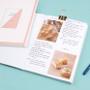 Pink - Take notes grid notebook