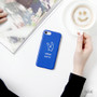 Blue - Ghostpop polycarbonate phone case for iPhone 7