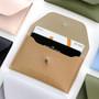 Beige - Un jour de chance slim card case holder