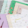 Monthly plan - 2018 Pour vous humming large dated monthly planner