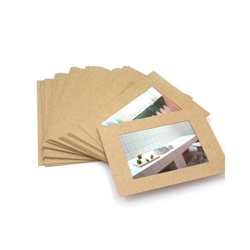 custom photo paper Paper picture frames and recycled cardboard photo frames make a great low cost handout for trades hows and conventions.