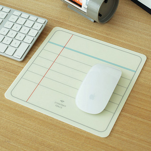 2NUL Standard space note pad mouse pad - fallindesign.com