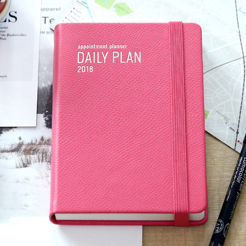 2018 Appointment A6 Dated Daily Planner