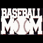 Baseball Mom Die Cut