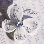 """Butterfly - 2"""" Ivory"""