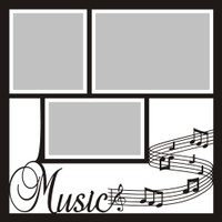 Music - 12x12 Overlay