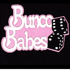 Bunco Babes with Glitter Dice