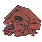 Dog in Dog House - 2 Color