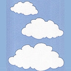 Clouds - package of 3 sizes.
