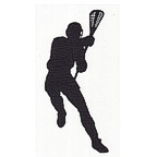 Lacrosse Player - Man