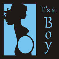 It's a Boy - 12x12 Overlay
