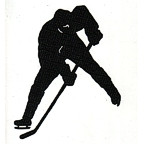 Hockey Player Laser Design