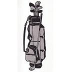 Golf Bag - Superb Laser Detail! 2 color design.