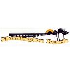 Huntington Beach Title Strip - 3 Colors!