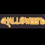 Halloween Title Strip - GLITTER!