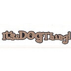 It's a Dog Thing! Title Strip