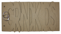 Grandkids Chipboard Album