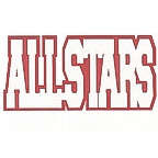 All Stars 2 Color Die Cut