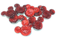 Mouse Ear Bling - Red (1 per package)