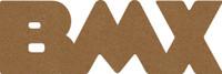 """BMX  -  Chipboard Word - 2 1/2"""" x 7 1/2"""""""