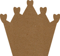 "Crown - 4"" x 4"" Chipboard"