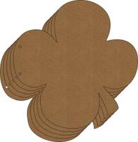 4 Leaf Clover Chipboard Album