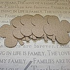 4 Leaf Clover Chipboard Embelishments - Pack of 4