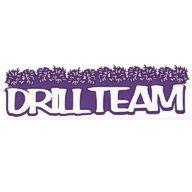 Drill Team Title Strip - Color Choice!