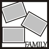 Family - 12x12 Overlay